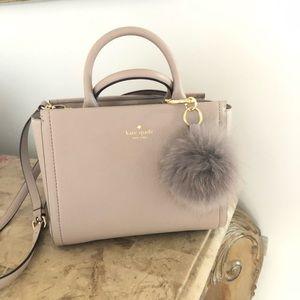 Genuine leather kate spade purse